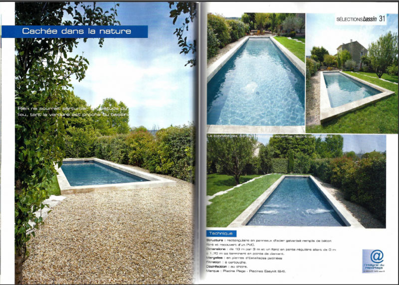Le magazine ambiance piscines pour une s lection bassin for Ambiance piscine