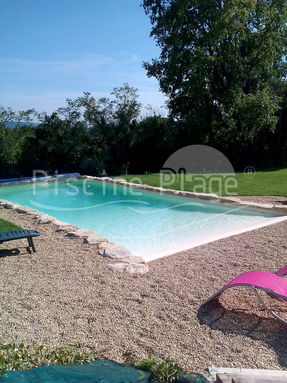 piscine avec plage immerg e valence fr jus poitiers. Black Bedroom Furniture Sets. Home Design Ideas