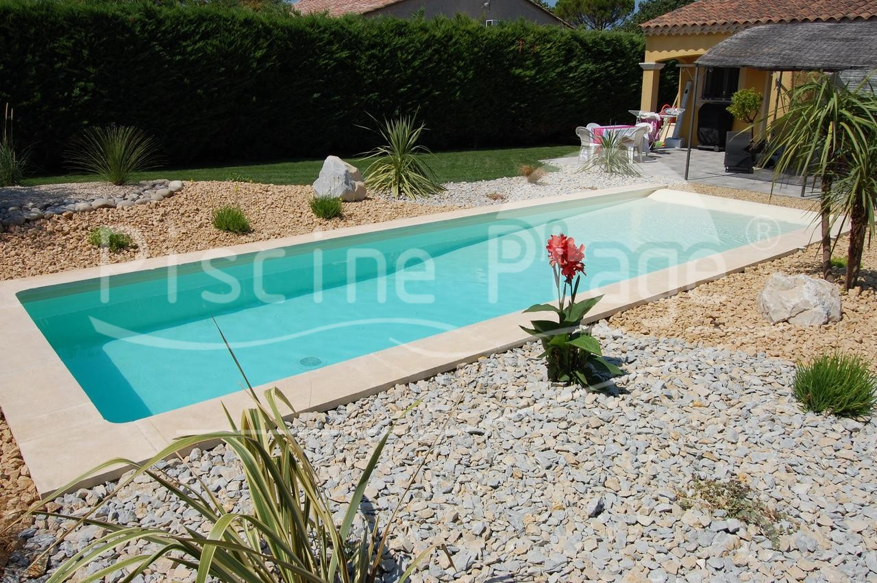 Entourage piscine hors sol top d co piscine pente douce for Piscine hors sol bois design